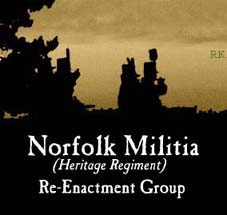 The Norfolk Militia (Heritage Regiment) War of 1812 Re-Enactors